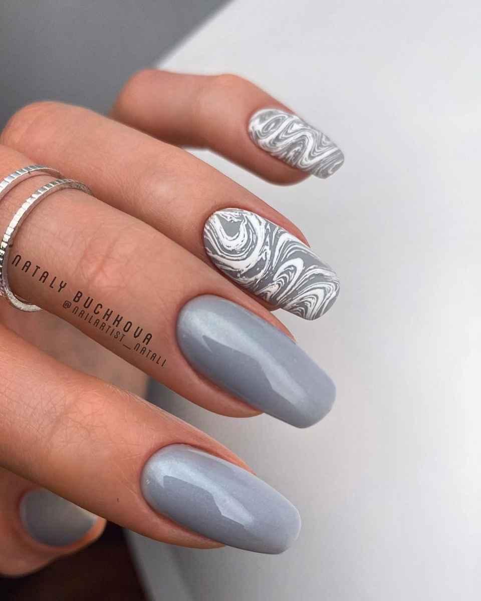 Фантазийные текстуры на ногтях фото_32