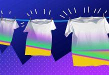 как очистить свою одежду от старых пятен