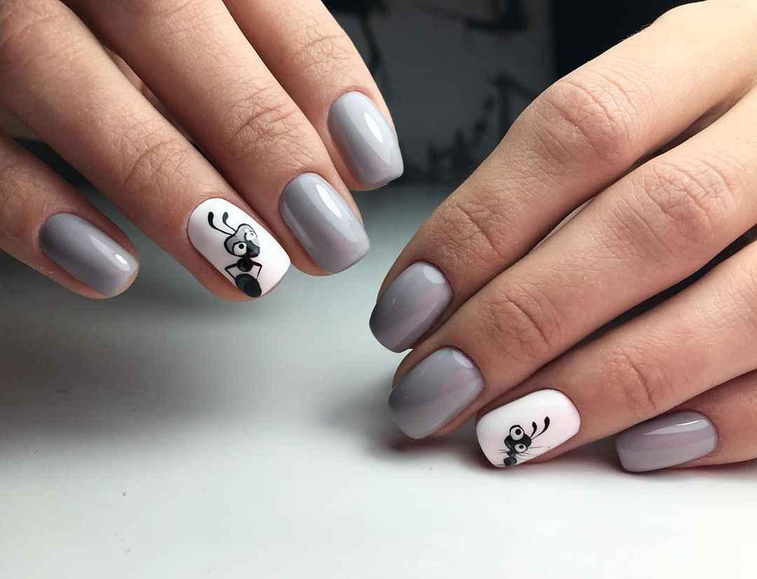 Муравьи на ногтях фото_24