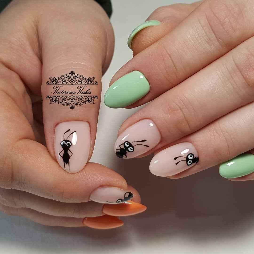 Муравьи на ногтях фото_19
