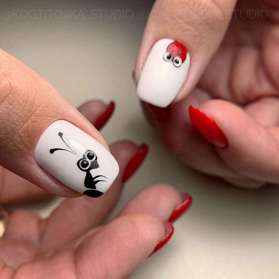 Муравьи на ногтях фото_21