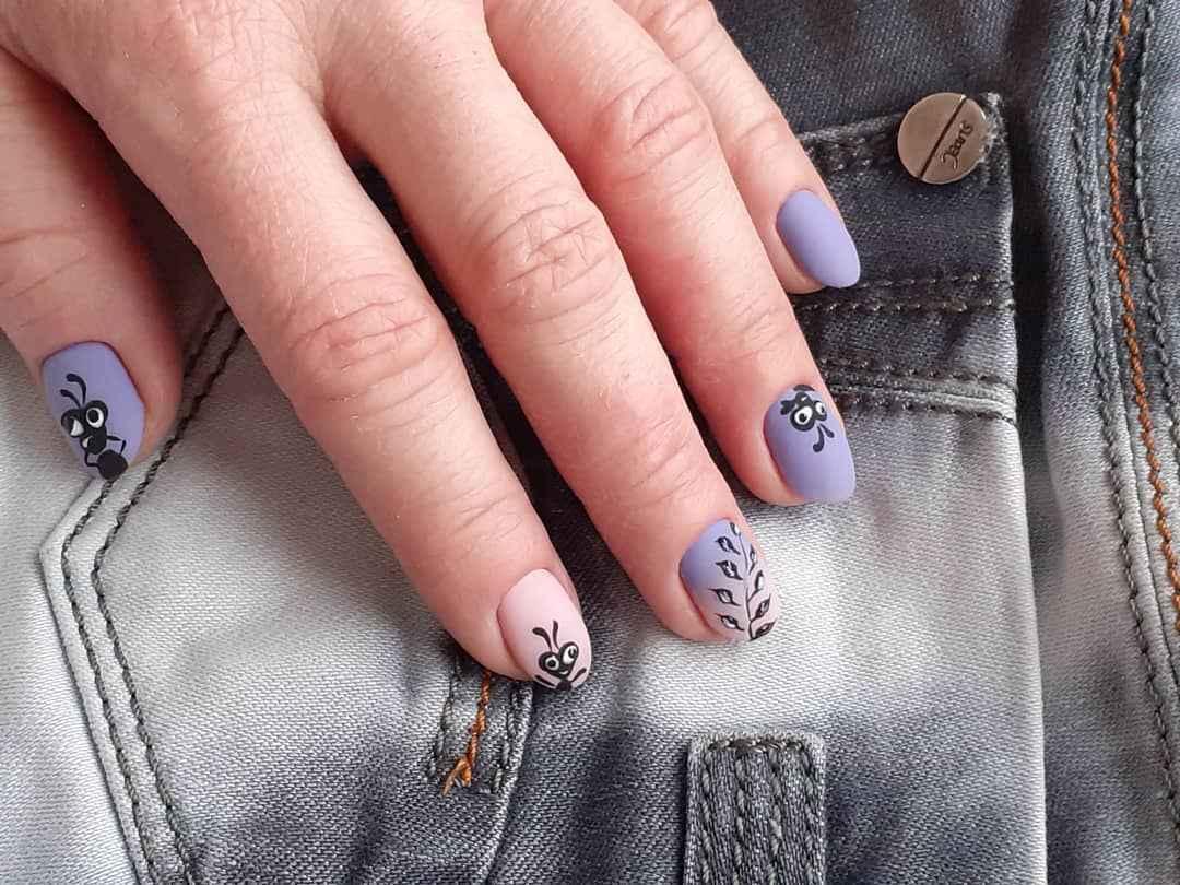 Муравьи на ногтях фото_15