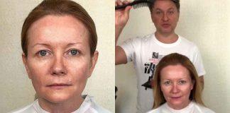Два преображения от российского стилиста