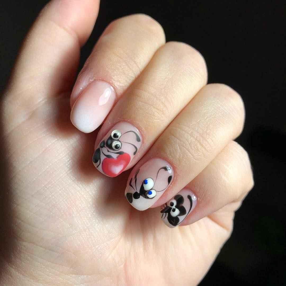 Муравьи на ногтях фото_5