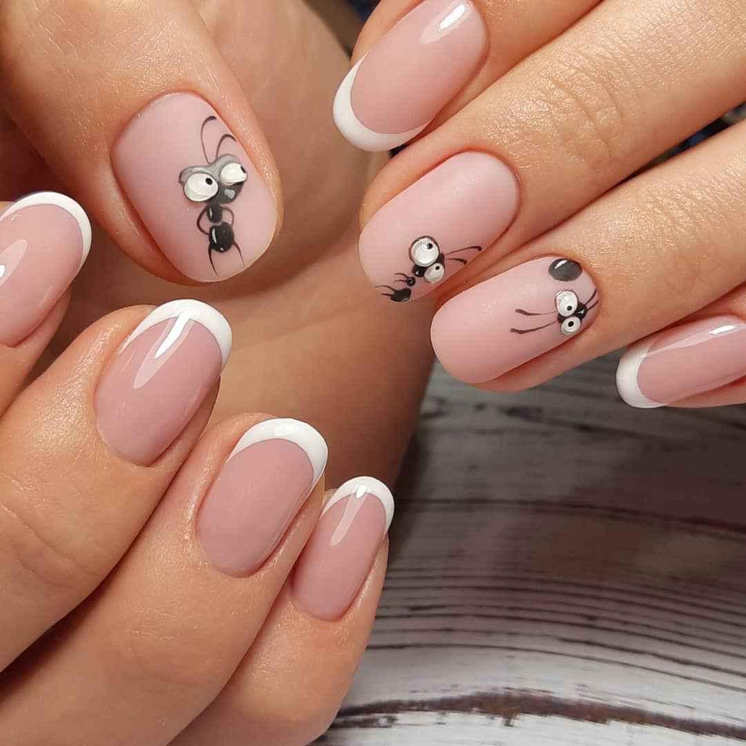 Муравьи на ногтях фото_2