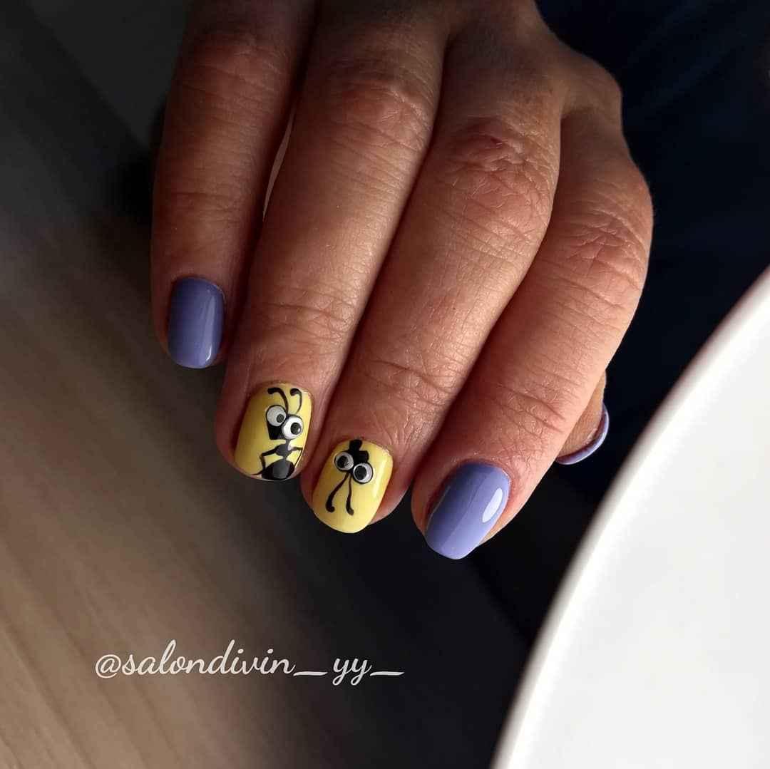 Муравьи на ногтях фото_1