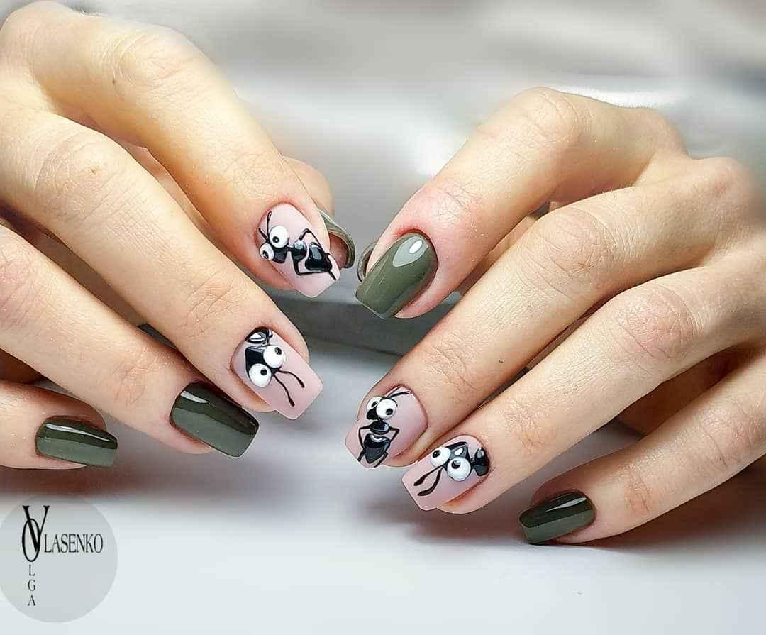 Муравьи на ногтях фото_7