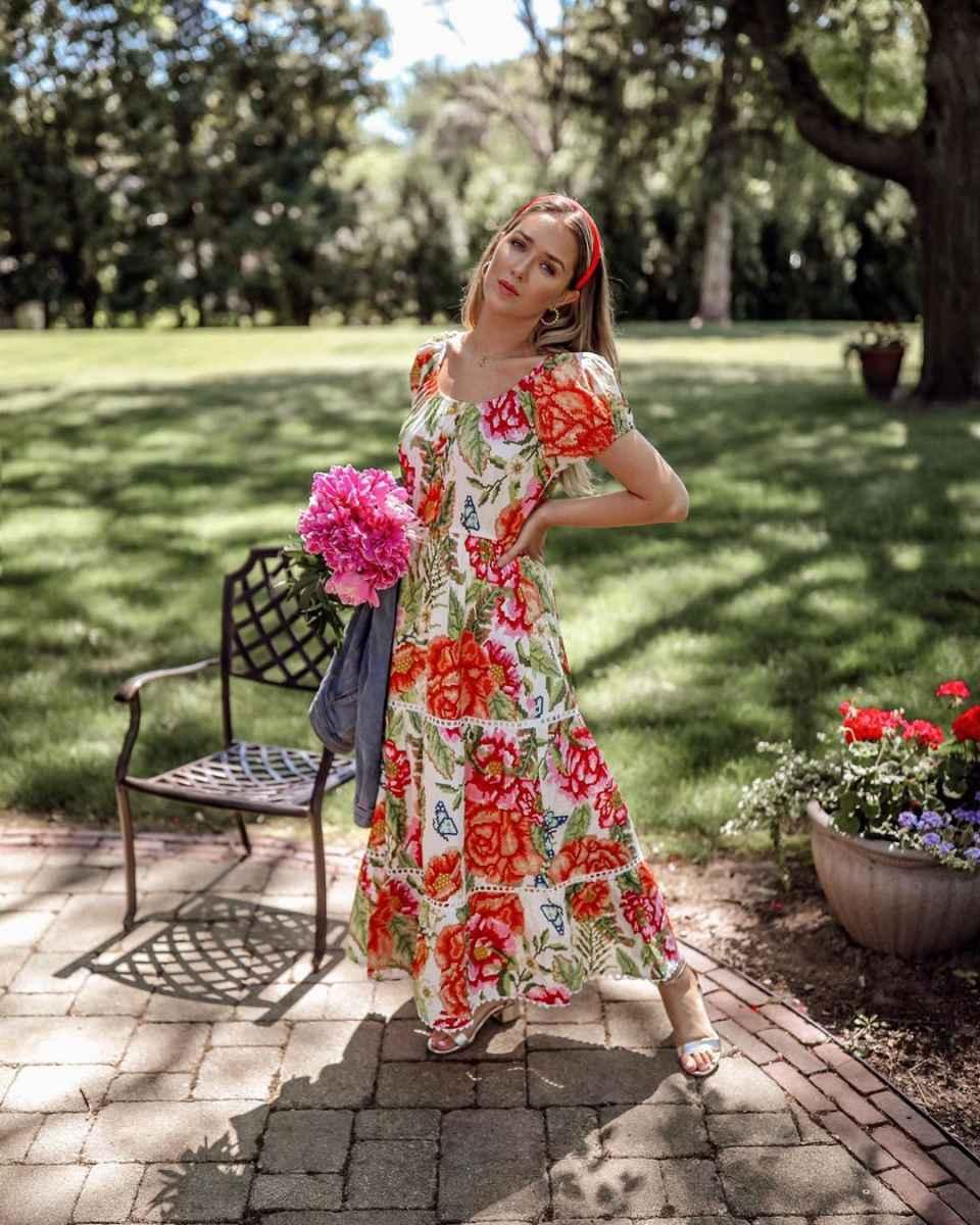 Модные платья лето 2020 для женщин 30 лет фото_7