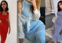 Платье футляр: куда надеть и с чем носить