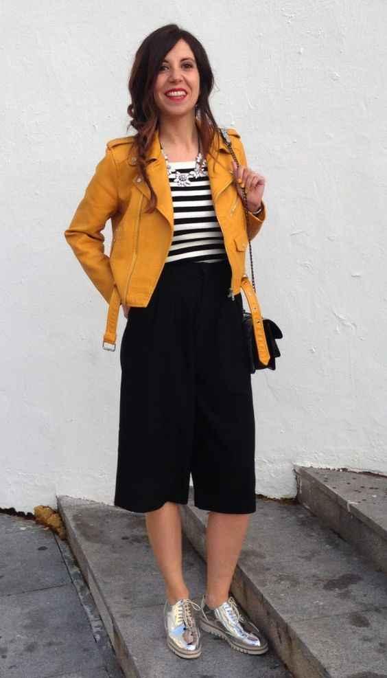 С чем носить желтую куртку фото_11