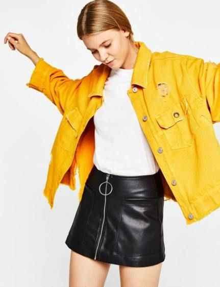 С чем носить желтую куртку фото_10