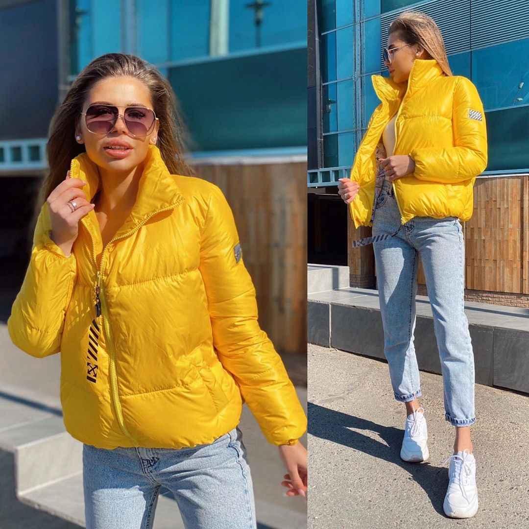 С чем носить желтую куртку фото_35