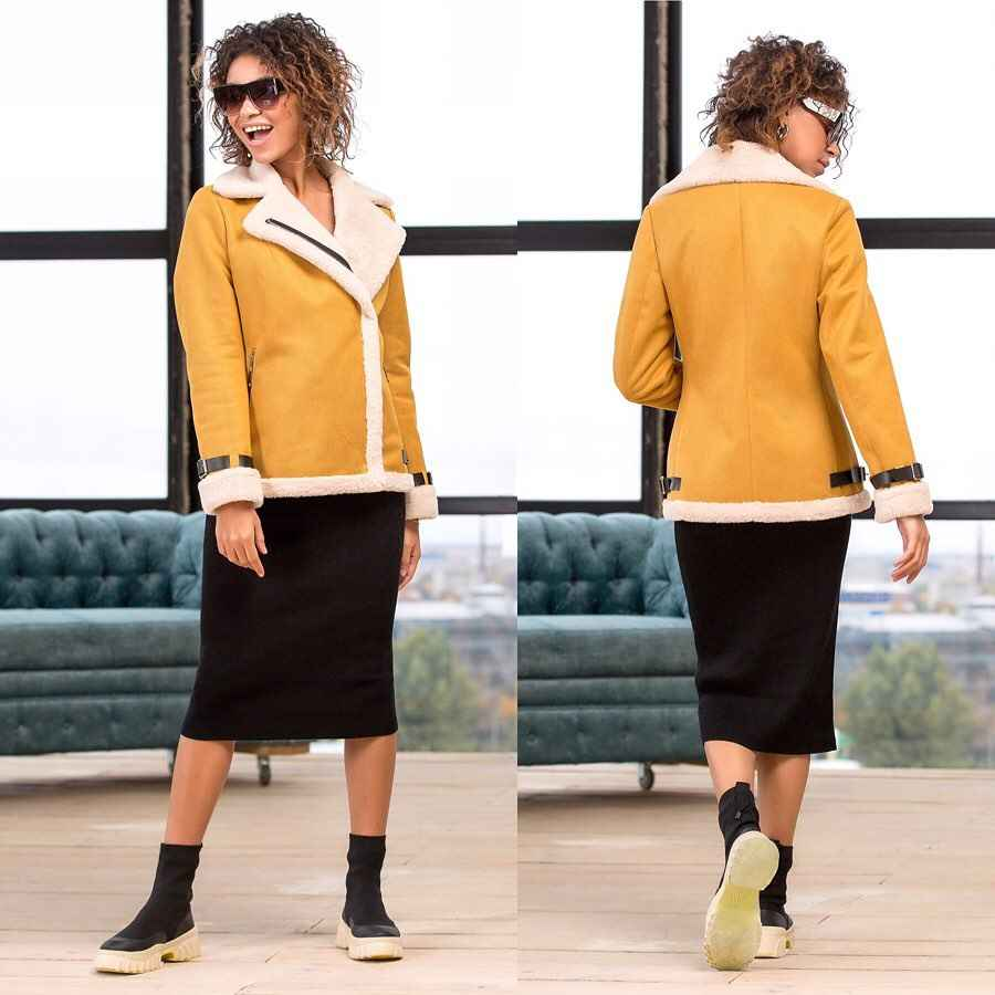 С чем носить желтую куртку фото_25