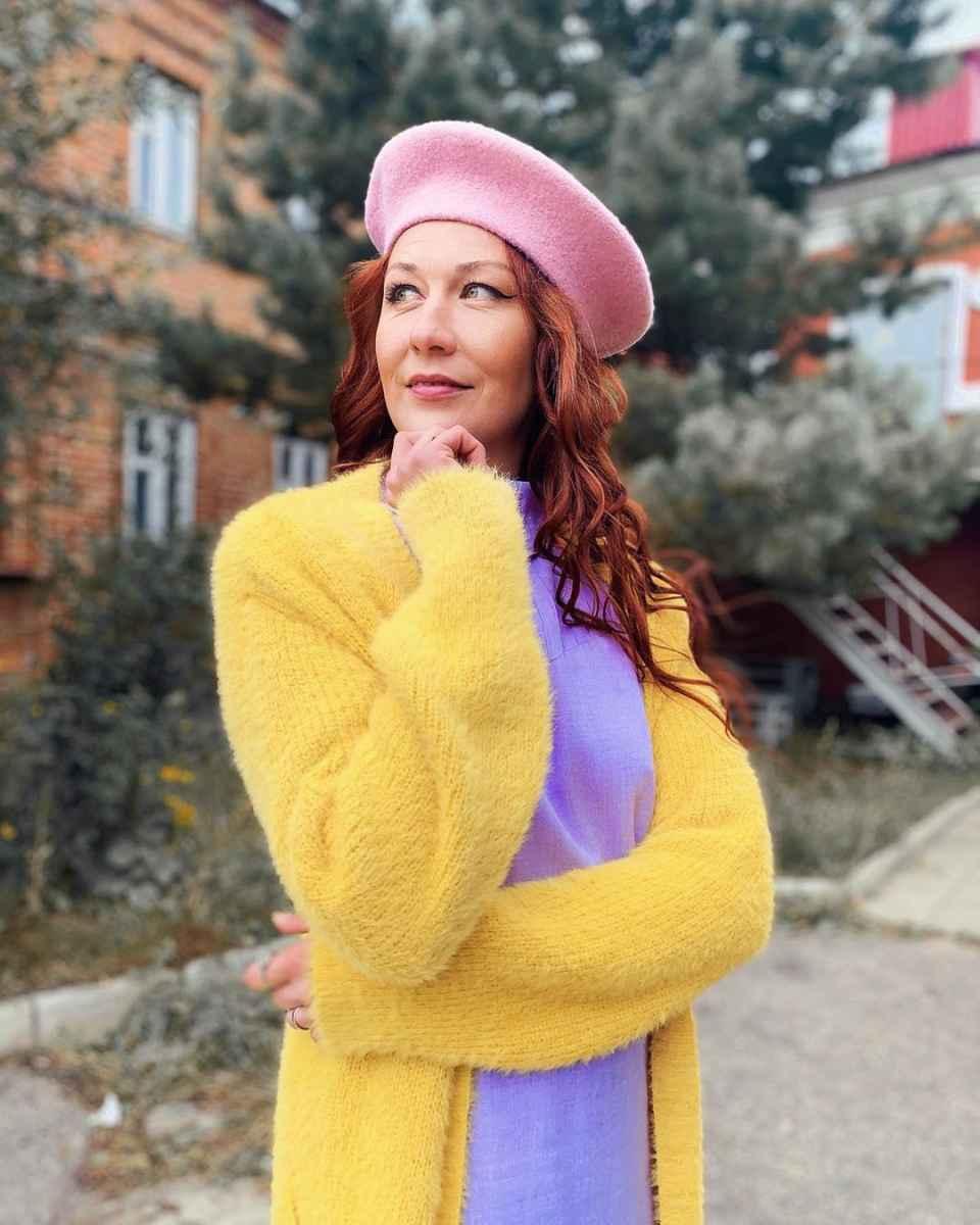 Модные береты осень-зима 2020-2021 фото_32