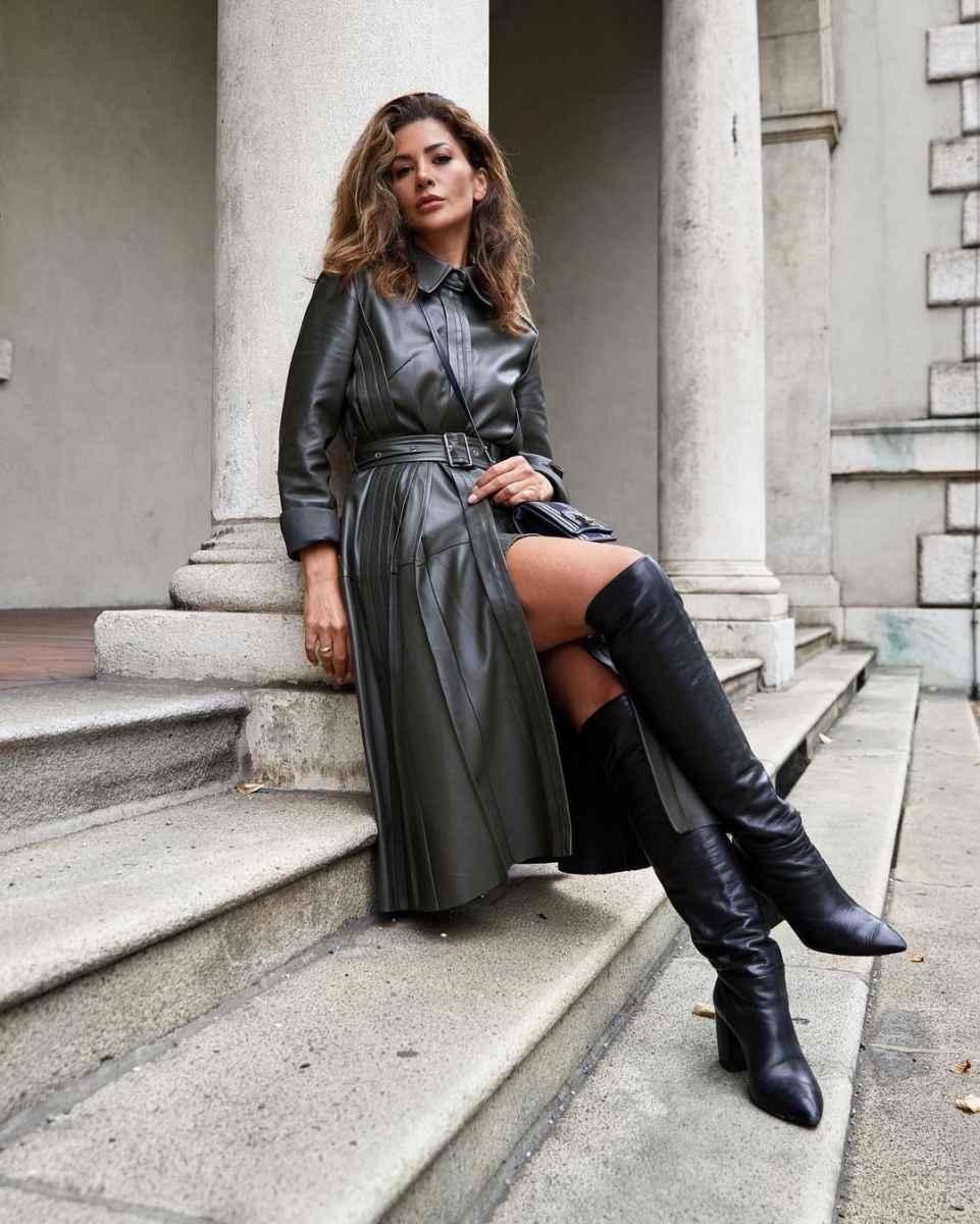 Модные фасоны пальто осень-зима 2020-2021 фото_17