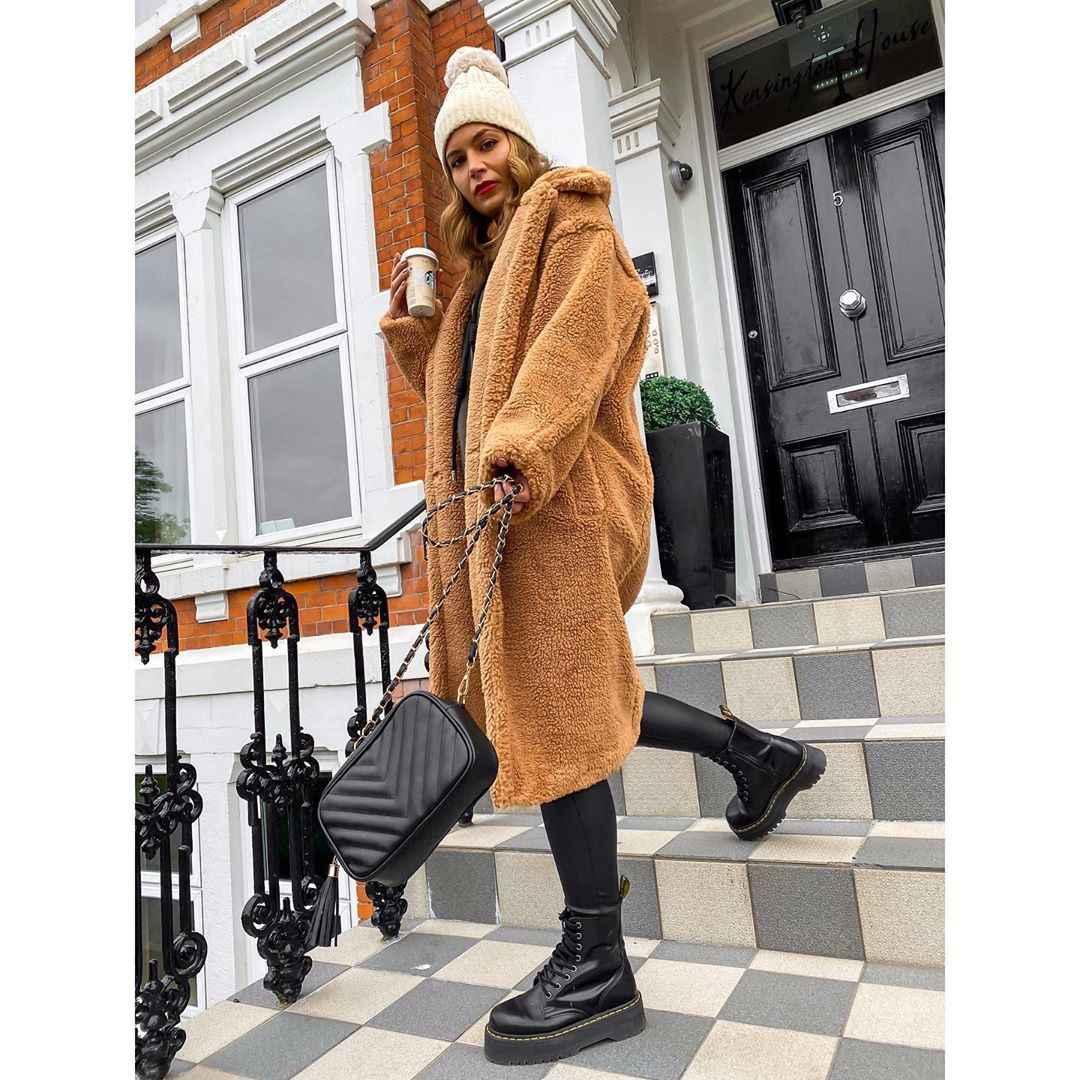 Модные фасоны пальто осень-зима 2020-2021 фото_23