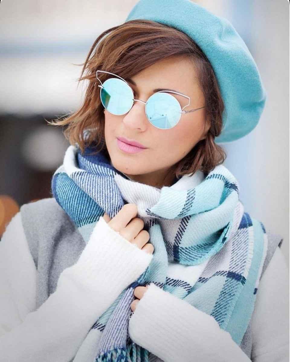 Модные береты осень-зима 2020-2021 фото_35
