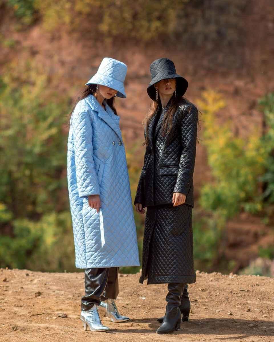 С чем носить панаму женскую осенью и зимой фото_46