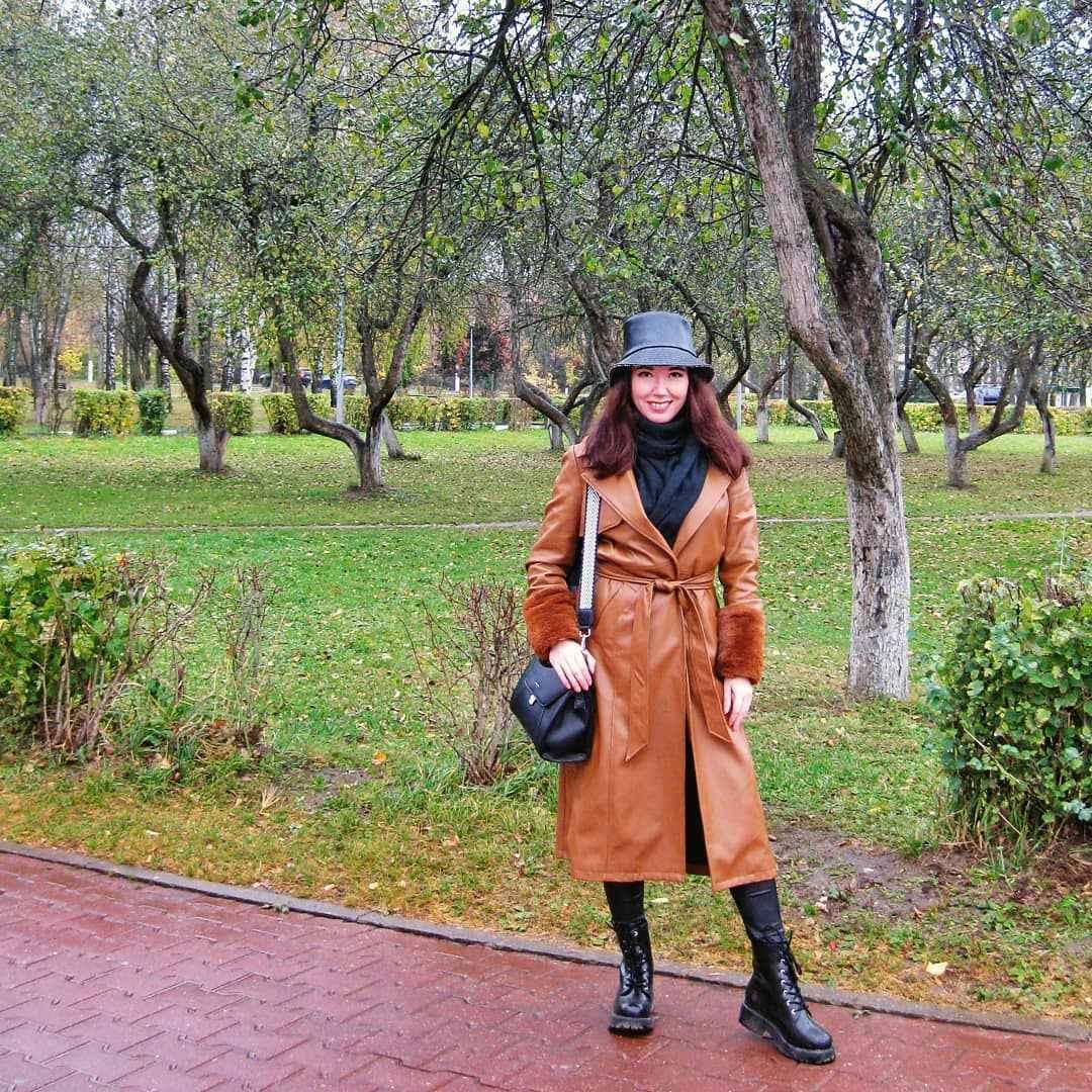 С чем носить панаму женскую осенью и зимой фото_43