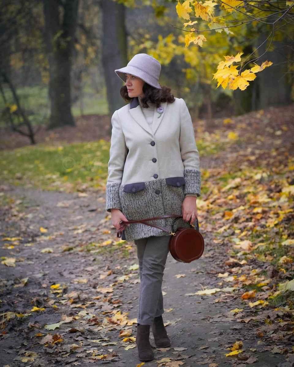 С чем носить панаму женскую осенью и зимой фото_66