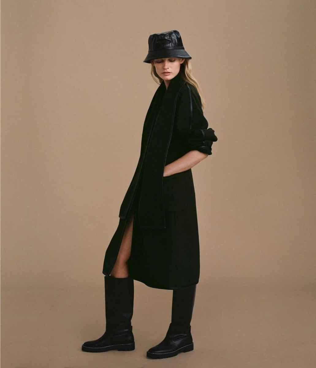 С чем носить панаму женскую осенью и зимой фото_47