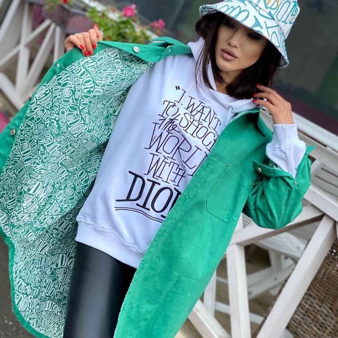 С чем носить панаму женскую осенью и зимой фото_53