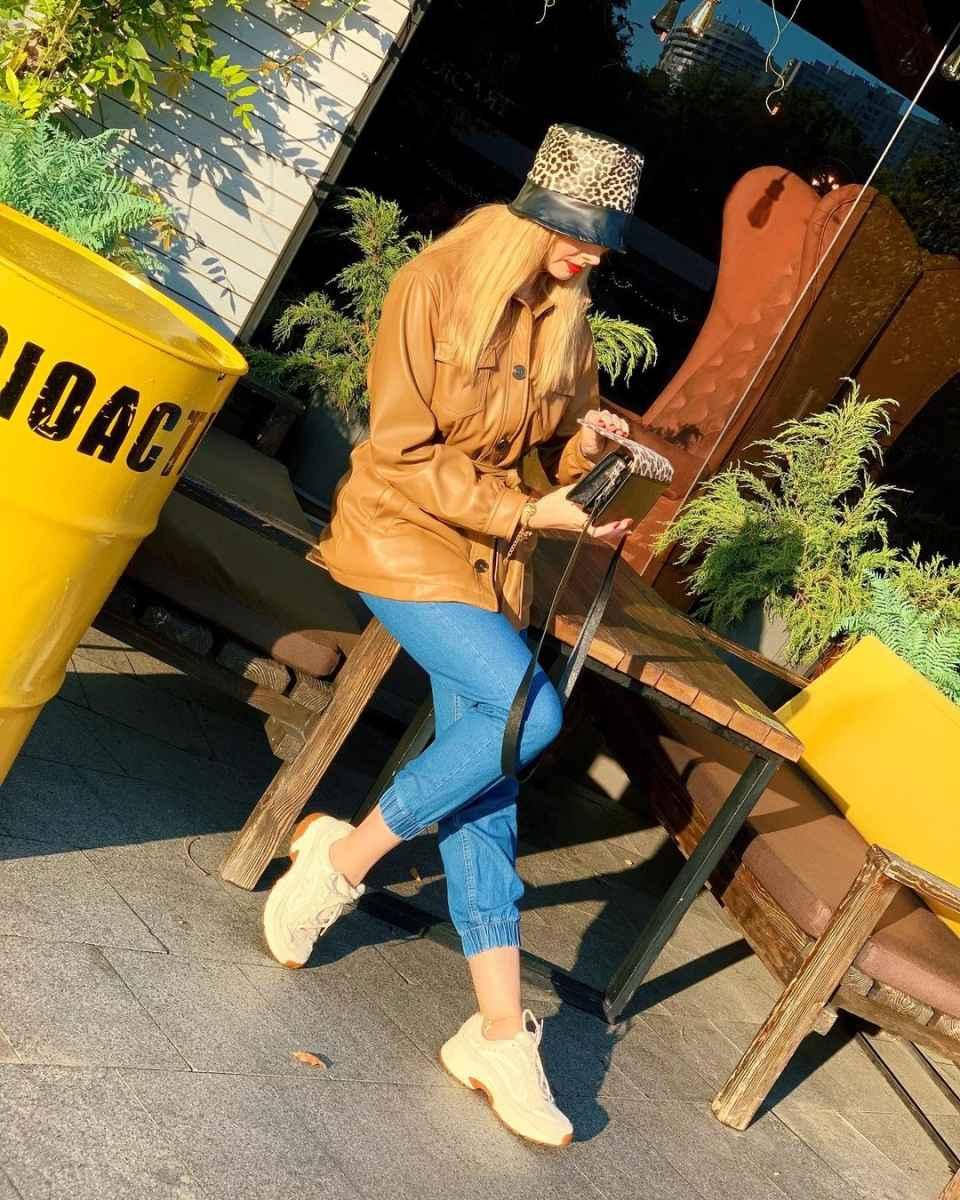 С чем носить панаму женскую осенью и зимой фото_31