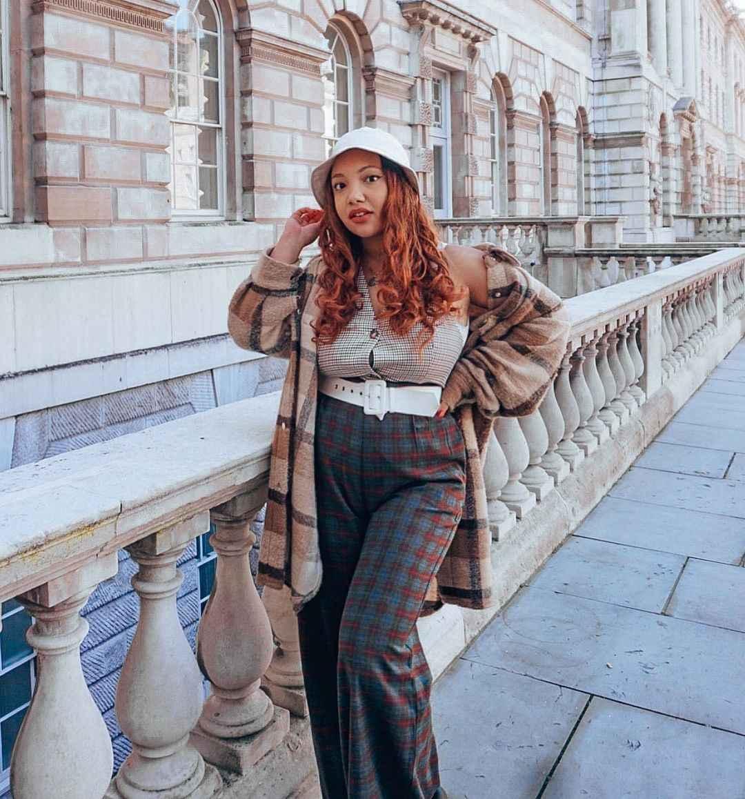 С чем носить панаму женскую осенью и зимой фото_5