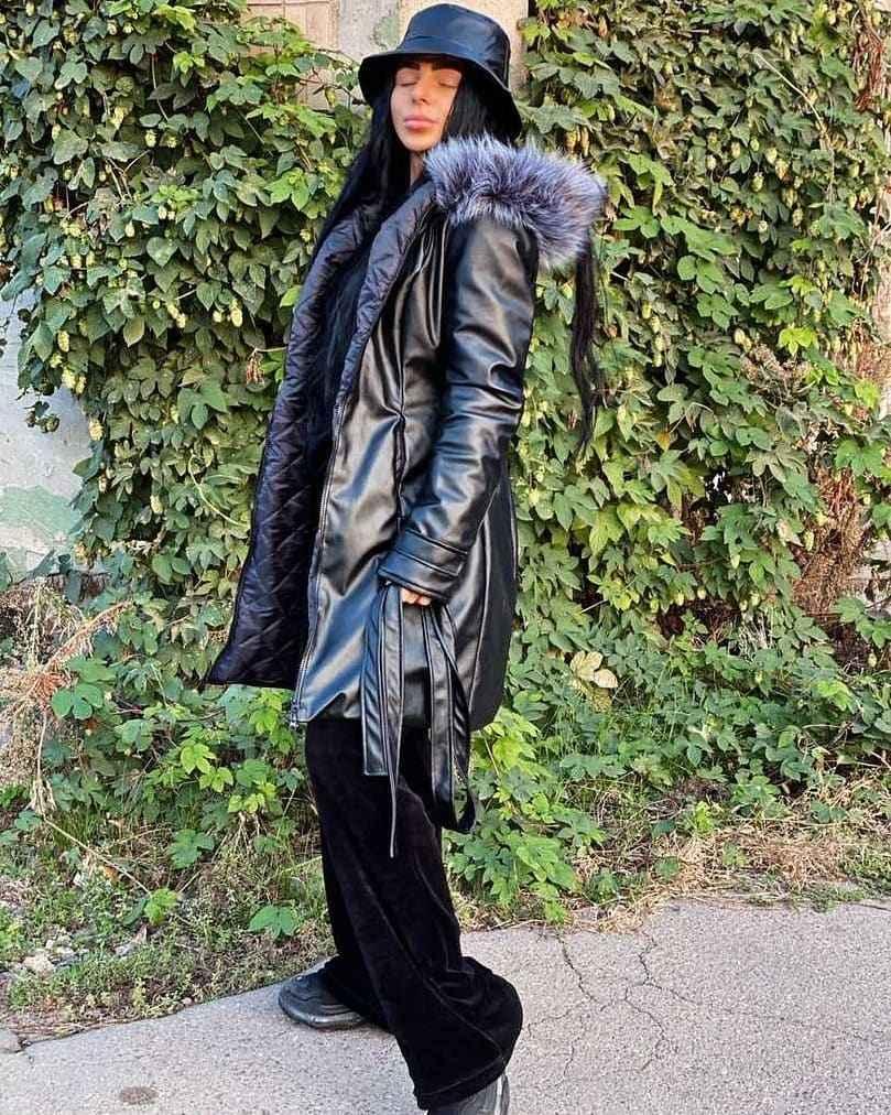 С чем носить панаму женскую осенью и зимой фото_27