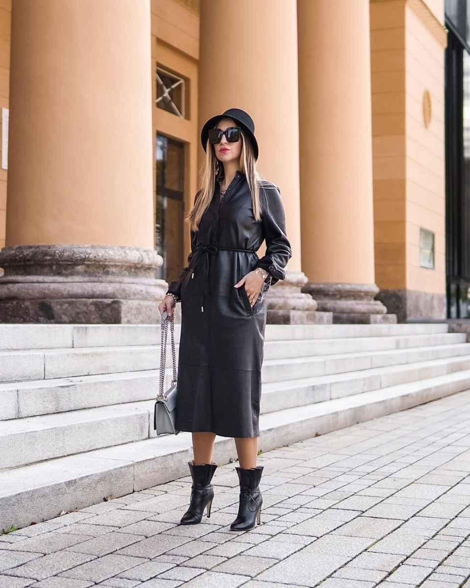 С чем носить панаму женскую осенью и зимой фото_19