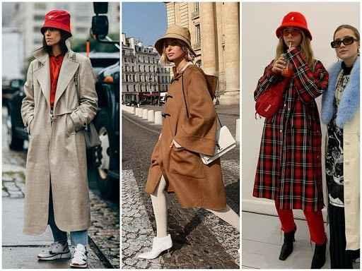 С чем носить панаму женскую осенью и зимой фото_36