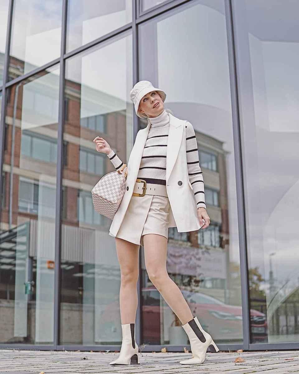 С чем носить панаму женскую осенью и зимой фото_7