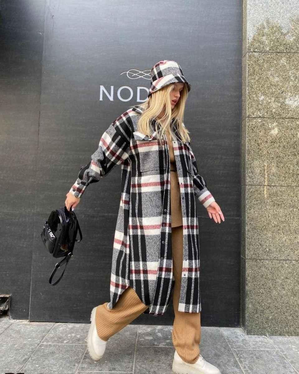 С чем носить панаму женскую осенью и зимой фото_58
