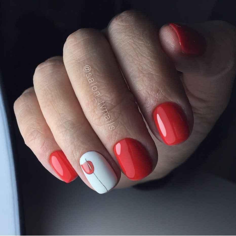 Тюльпаны на ногтях фото_26