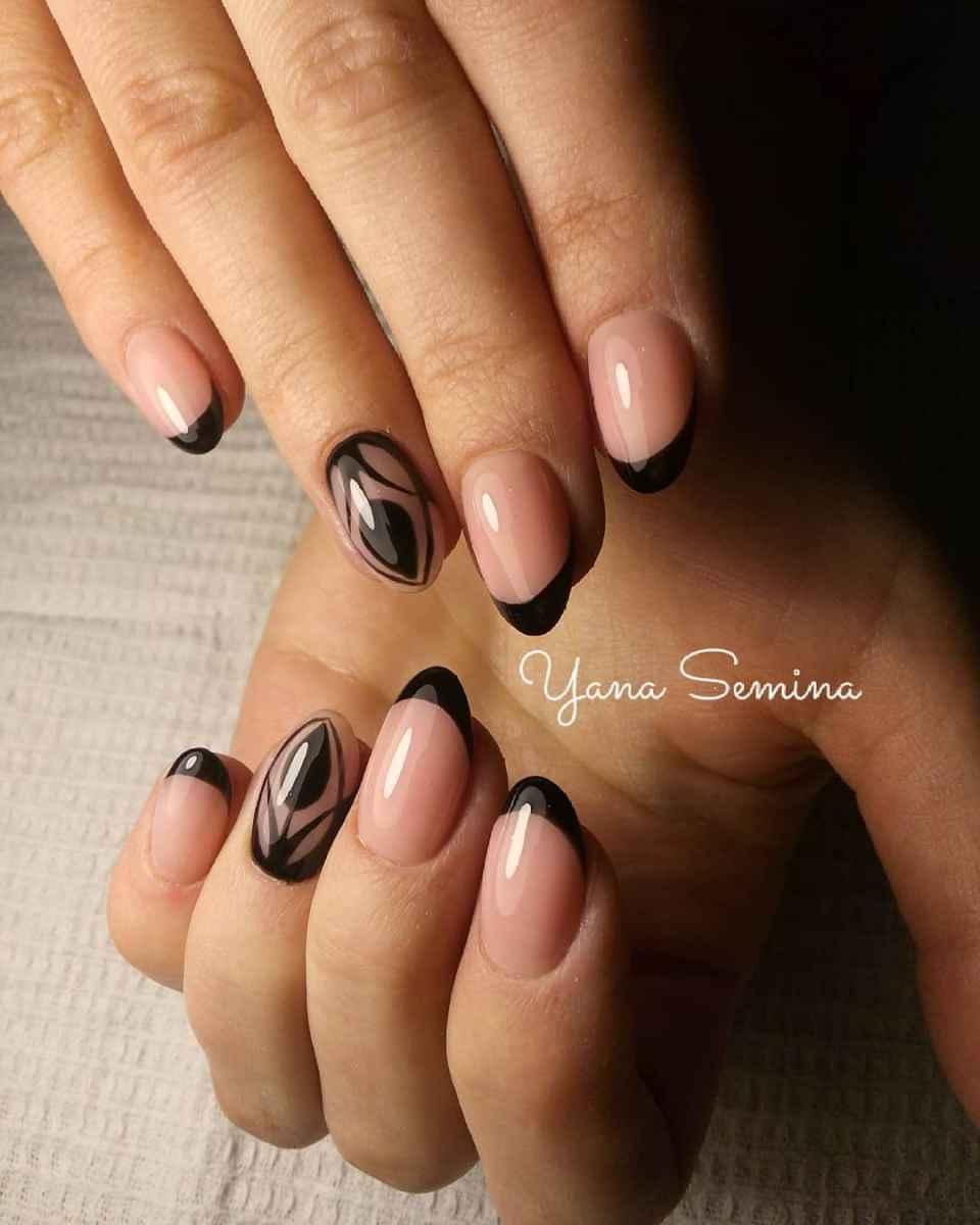 Тюльпаны на ногтях фото_2