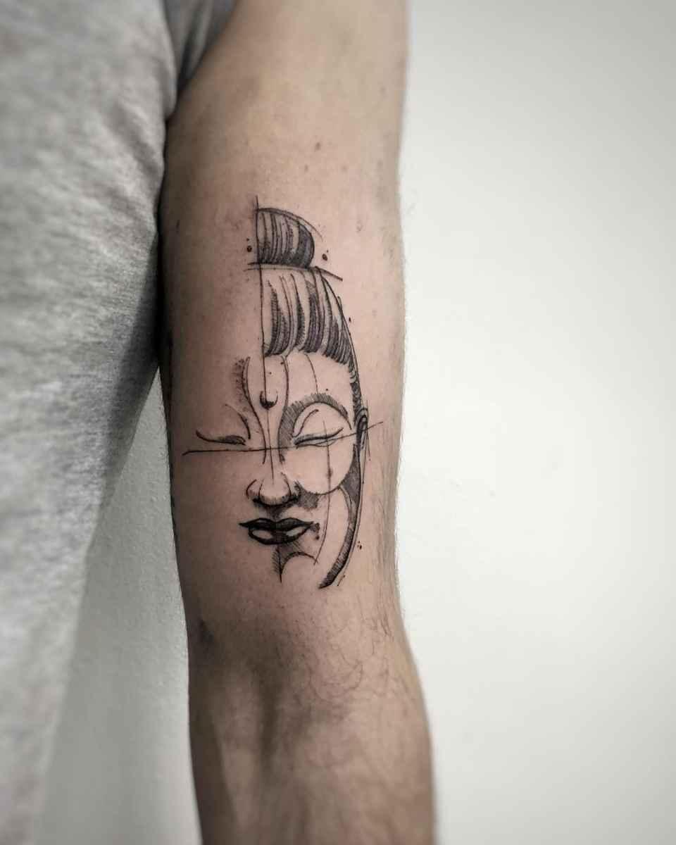 татуировка будда фото_16