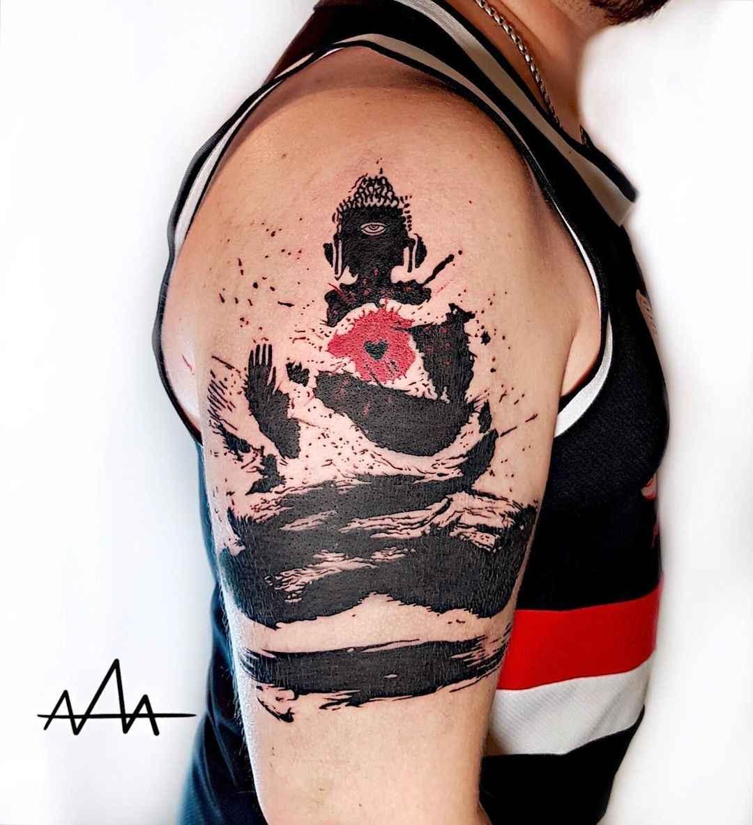 татуировка будда фото_29