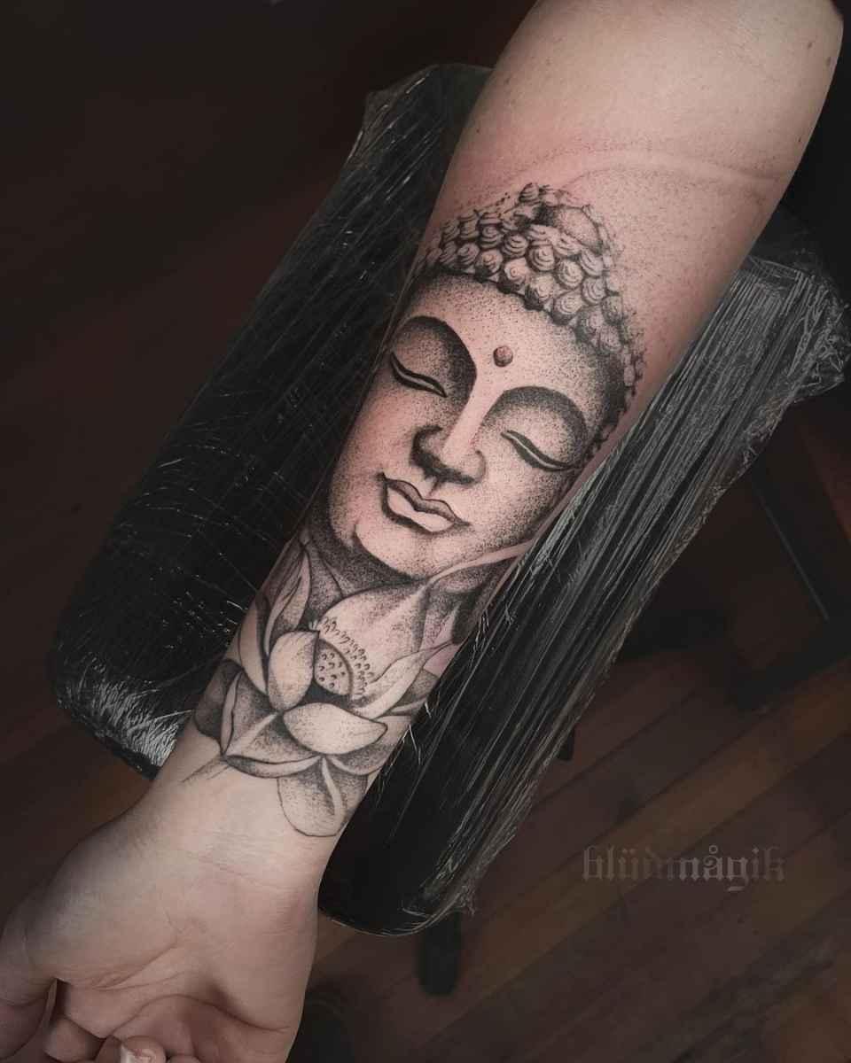 татуировка будда фото_51