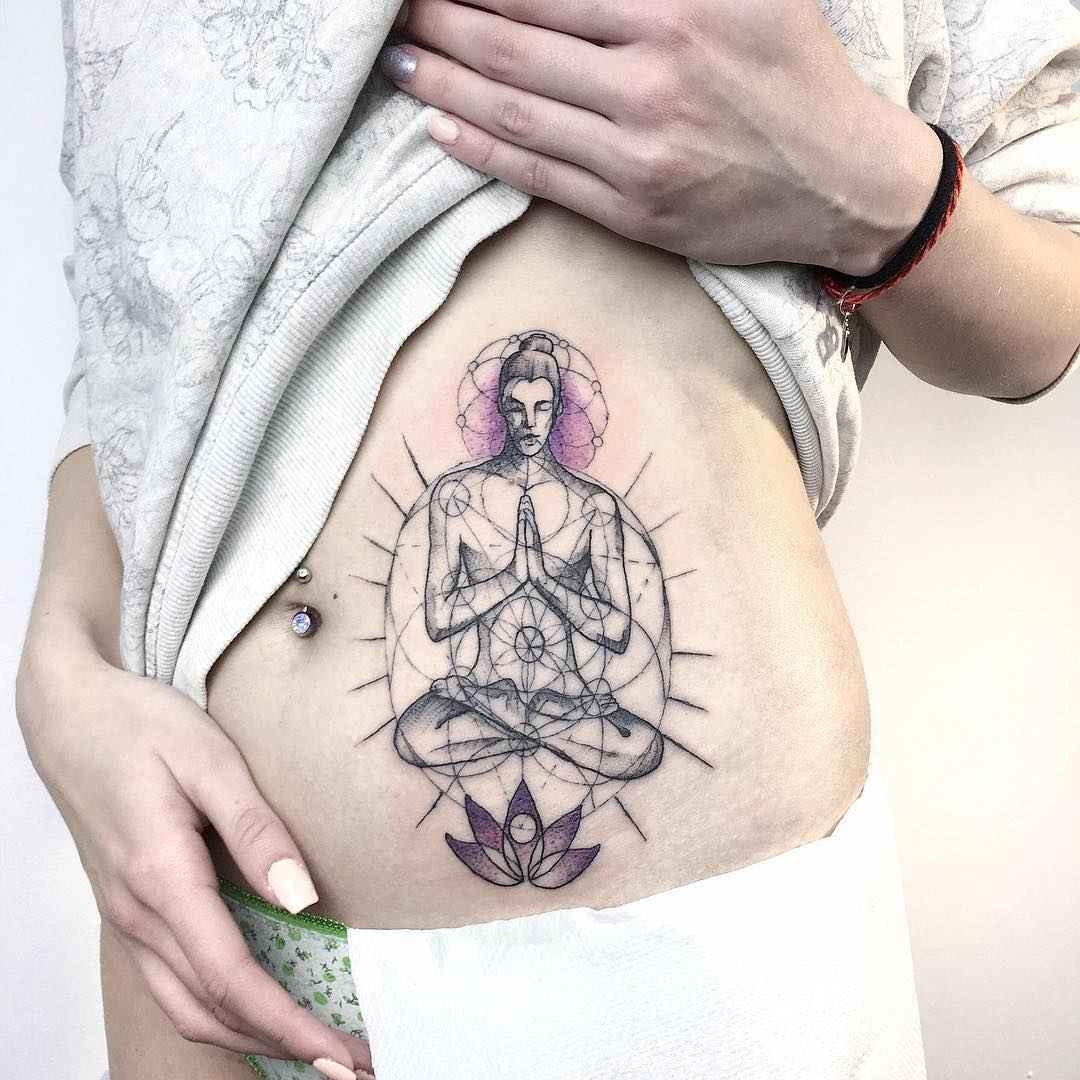 татуировка будда фото_1
