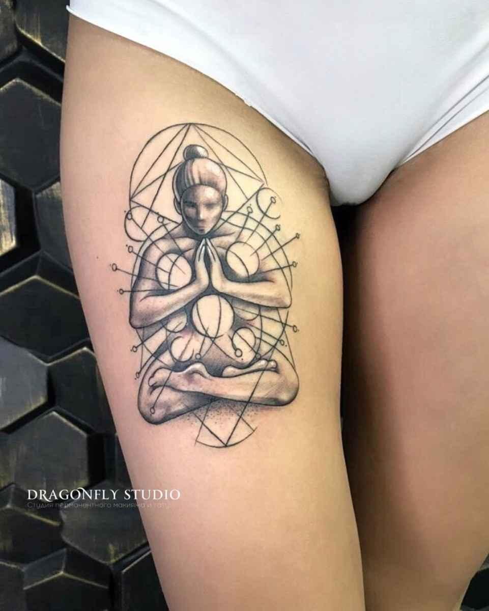 татуировка будда фото_26