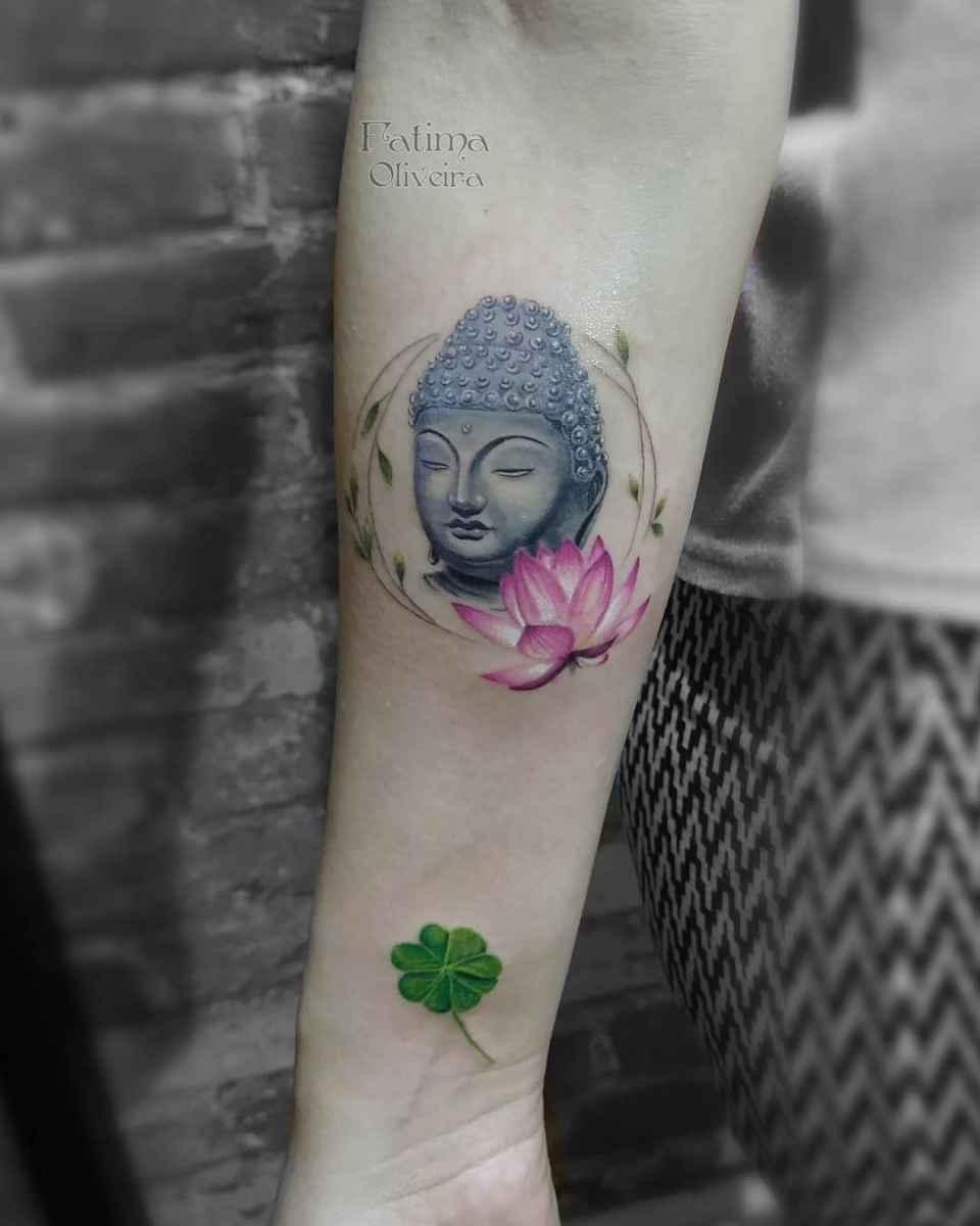 татуировка будда фото_12