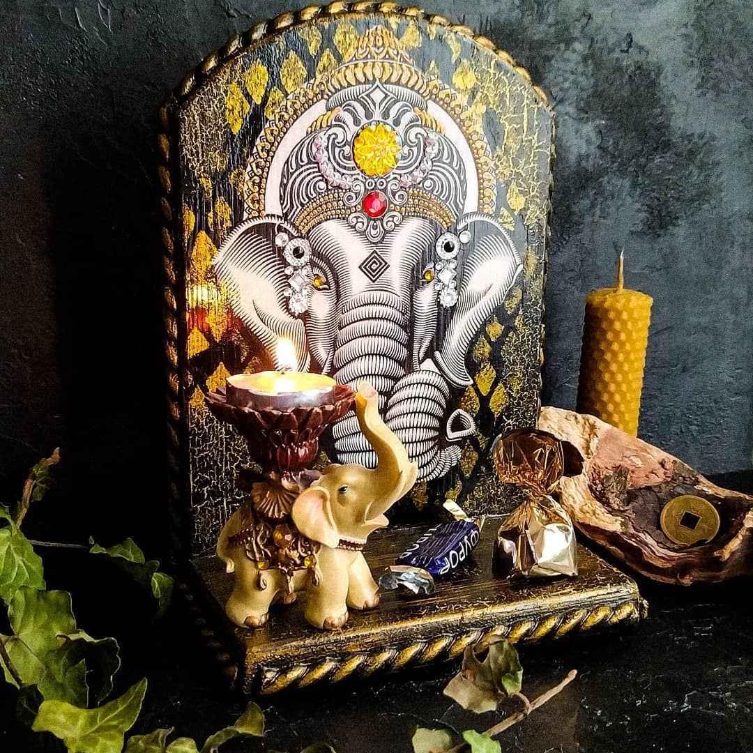 алтарь для медитации фото_12