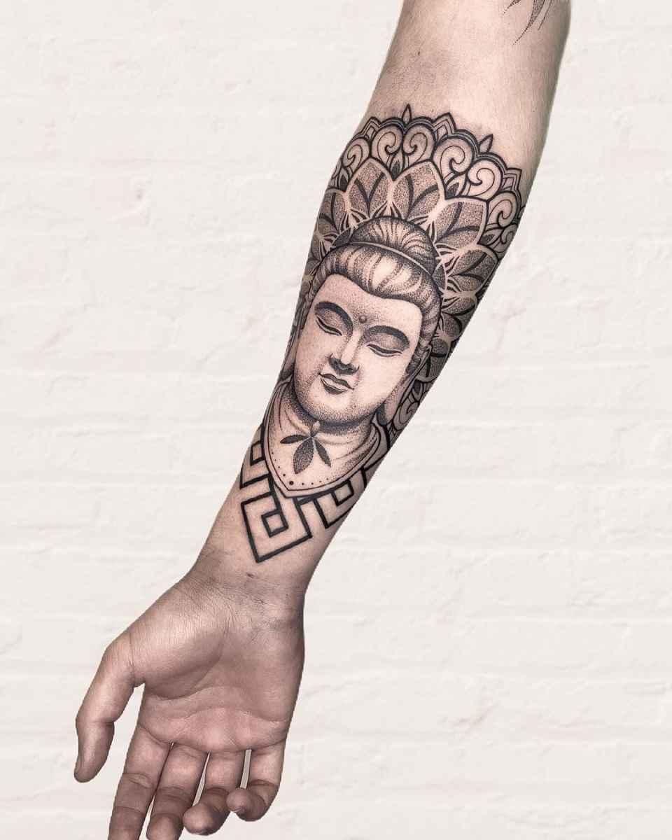 татуировка будда фото_52