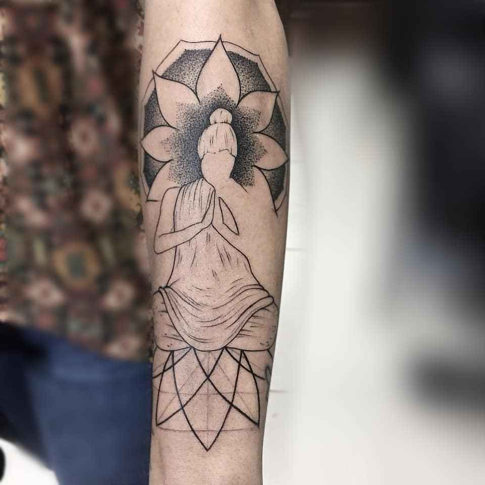 татуировка будда фото_43