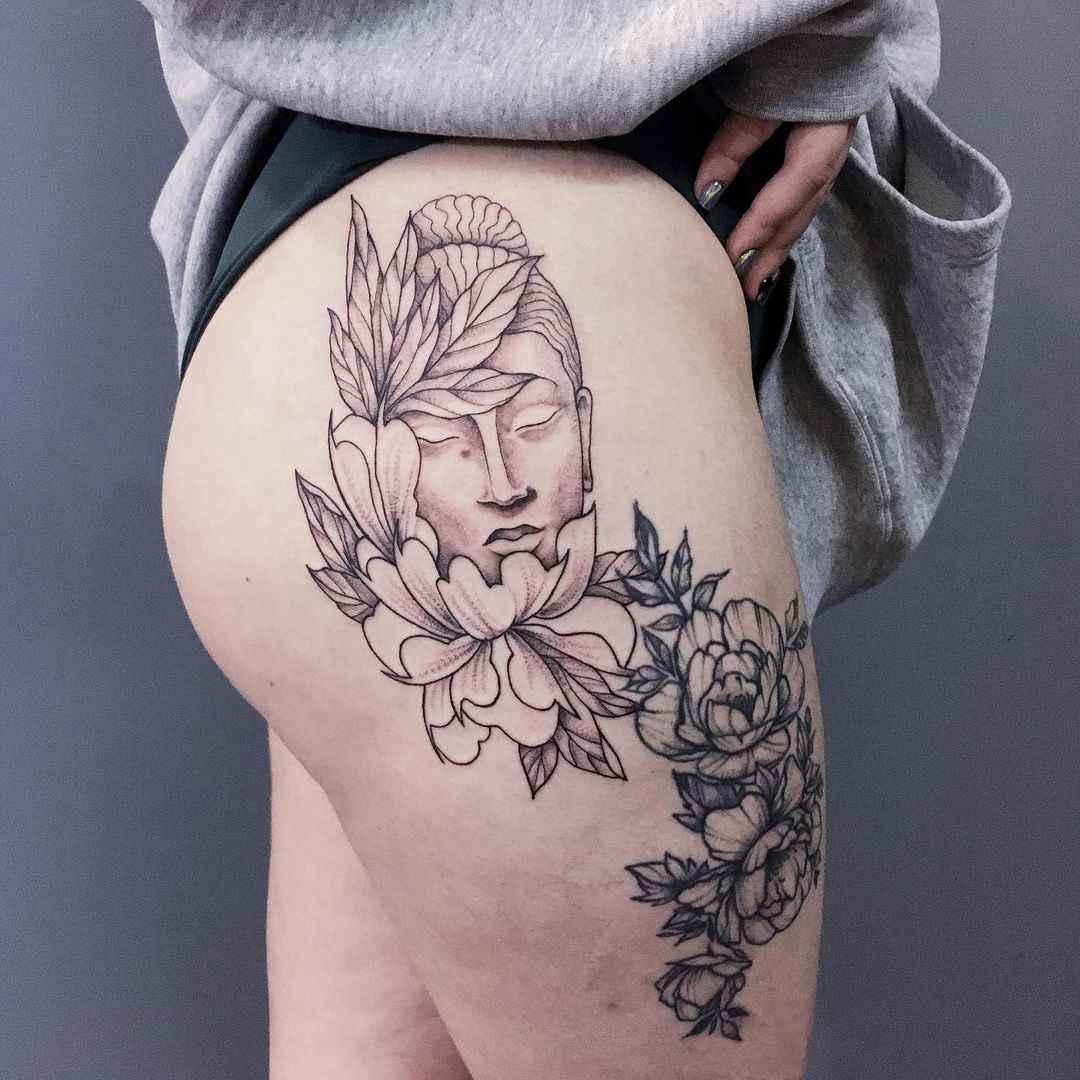 татуировка будда фото_23