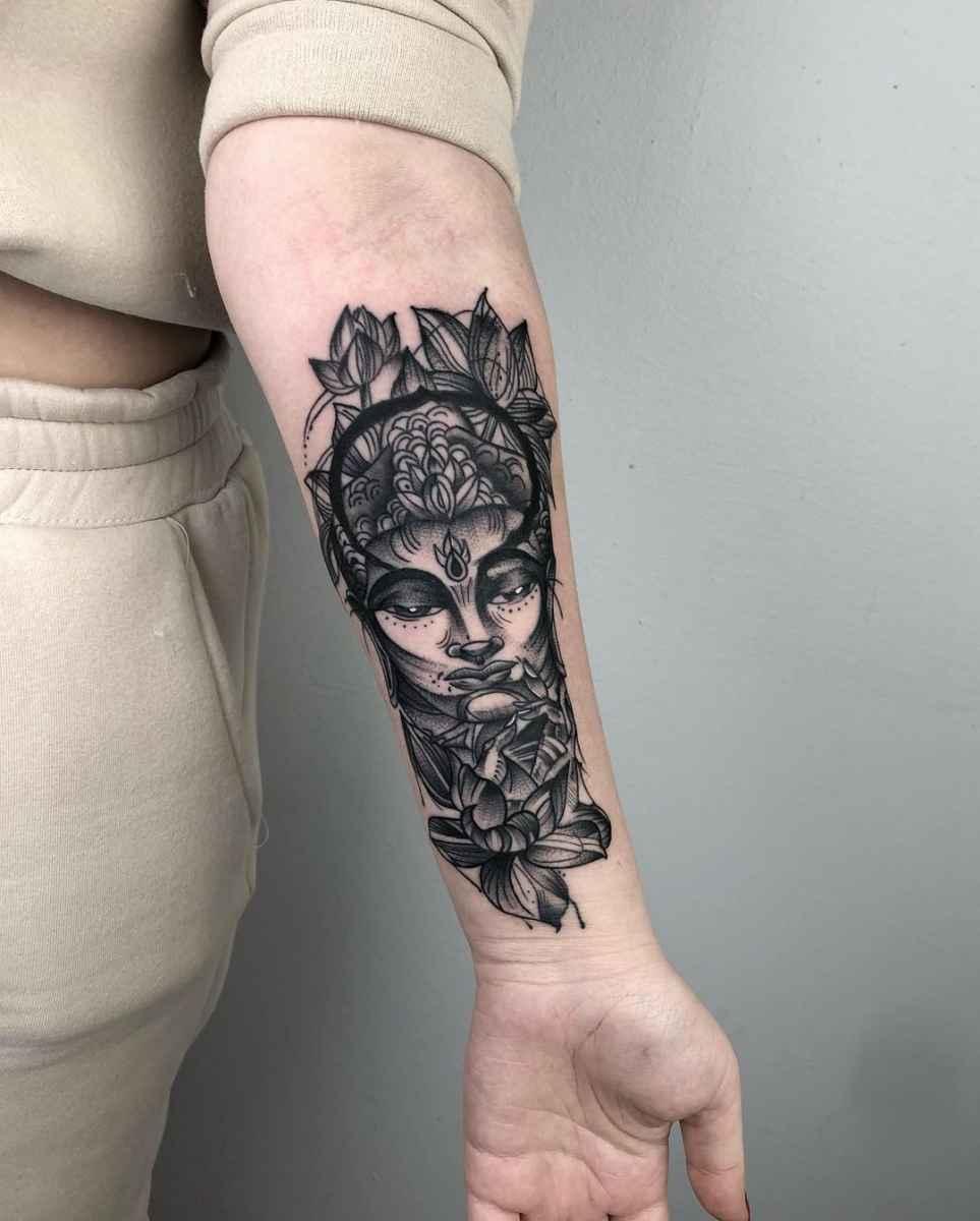 татуировка будда фото_40