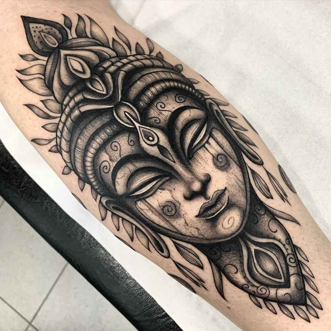 татуировка будда фото_44
