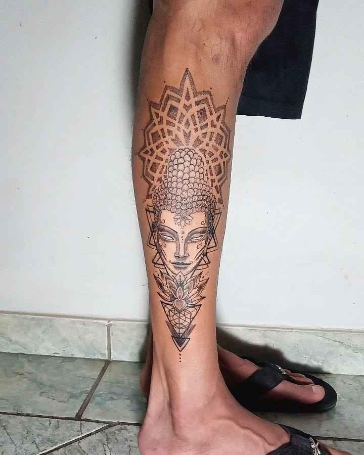 татуировка будда фото_33