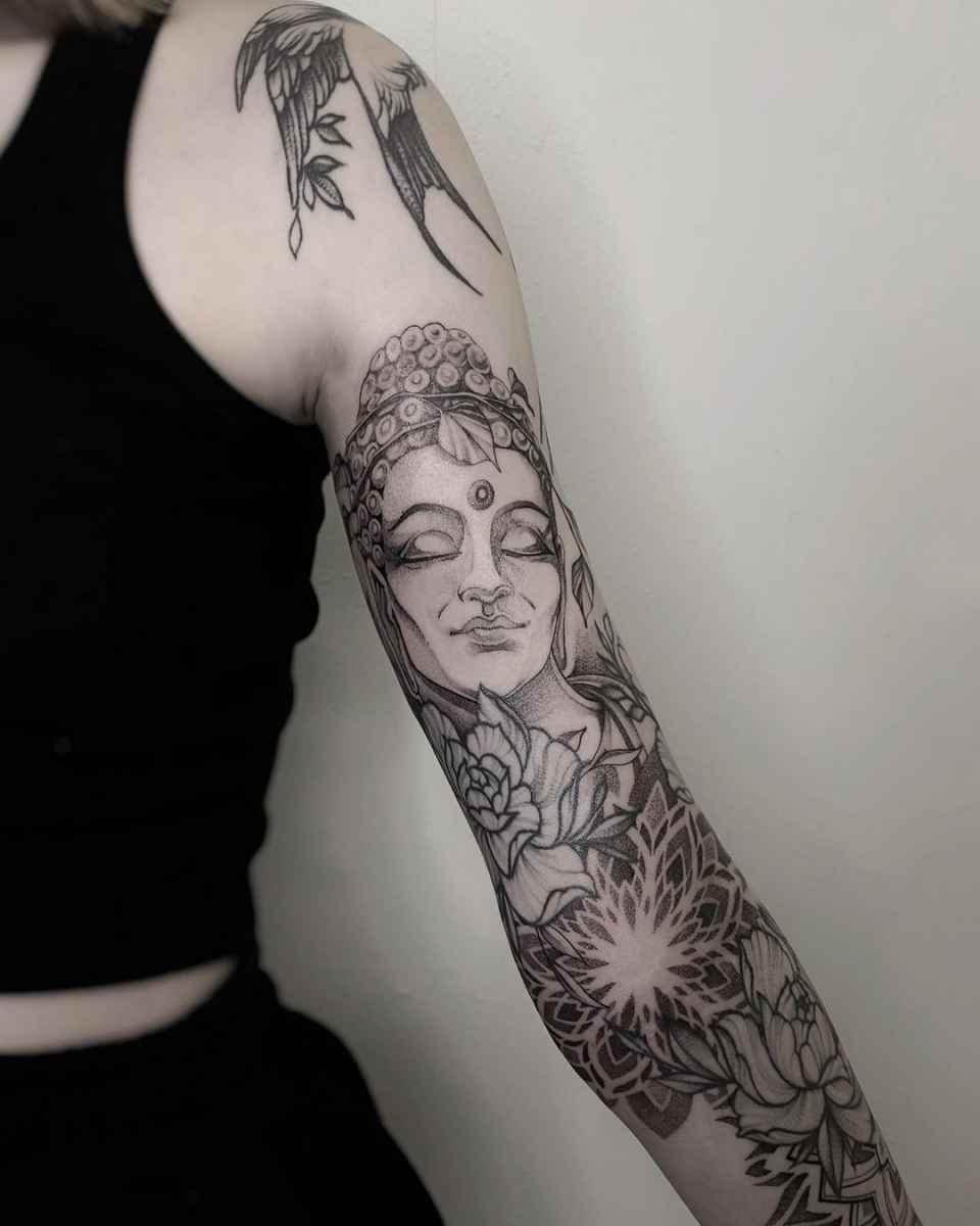 татуировка будда фото_49