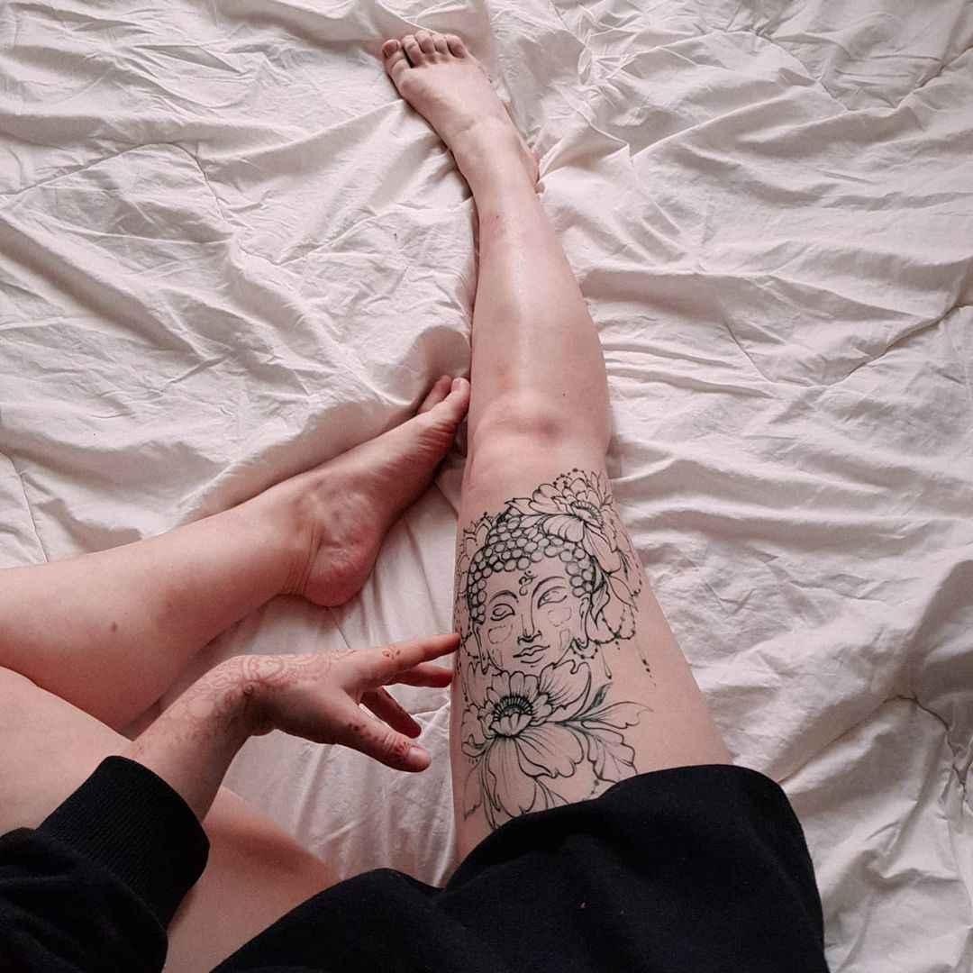 татуировка будда фото_20